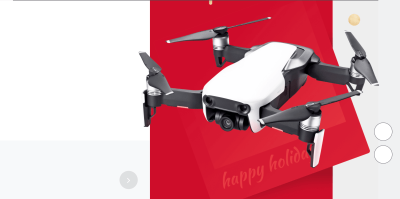 DJI Winter Holiday sale 2018 Mavic Air christmas 2019